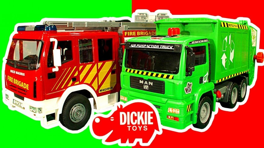 Dickie Toys Fire Engine Garbage - 129.9KB